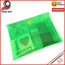 Clear PVC Vinyl Plastic Transparent envelope Clutch Beach Bag