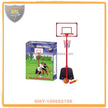 Outdoor basketball stands with alloy hoop and ball for kids