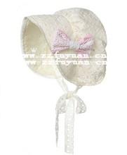European design baby toddler lace sun princess beanies hat
