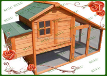 cheap layer outdoor large wooden chicken house for sale