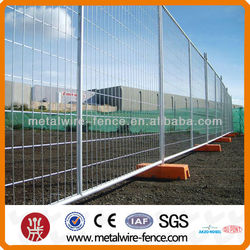 Hot-dipped galvanized Portable Temporary Fencing