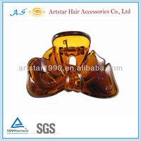 Large bows shape hair clips/ plastic hair claw 9399