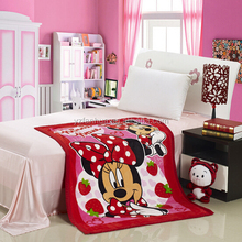 Soft and luxurious Baby Design sleep blankets 100*140mm