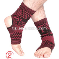 Cotton tourmaline ankle support