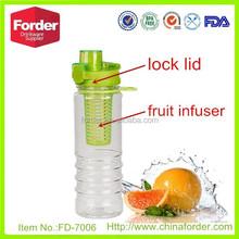 25oz fruit infuser bottle