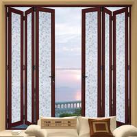 Modern and Luxury Tempered Double Glazing Sliding Folding Door Sliding Transparent Garage Door