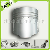 motorcycle piston and ring kit made in China with good quality for ISUZU 4BC2 5-12111-230-4,8-94169-765-0,8-97176-632-0