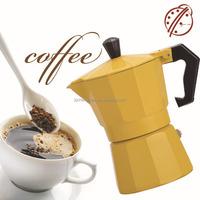 2015 Multifunctional unique aluminum coffee maker mocha pot/italian coffee maker