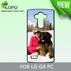 blank phone cases for sublimation heat transfer for LG G4