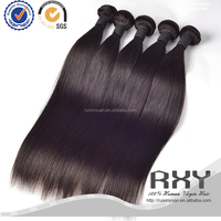 No shedding and tangle free unprocessed brazilian straight hair weave