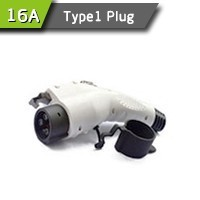 16Amp SAE J1772 Cable Connectors For Electric Vehicle Charging