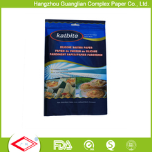 Wholesale Alibaba Non-stick Baking Paper Sleeve Parchment Sheets Set Supermarket Selling