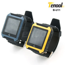 Outdoors unbreakable anti-shock three proofing Bluetooth watch waterproof IP68 1.6'' support call sms whatsapp facebook B-U11