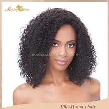 8A remy jerry curly virgin brazilian hair extension remy