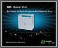 Erdgas co2-generator für den anlagenbau 4 brenner