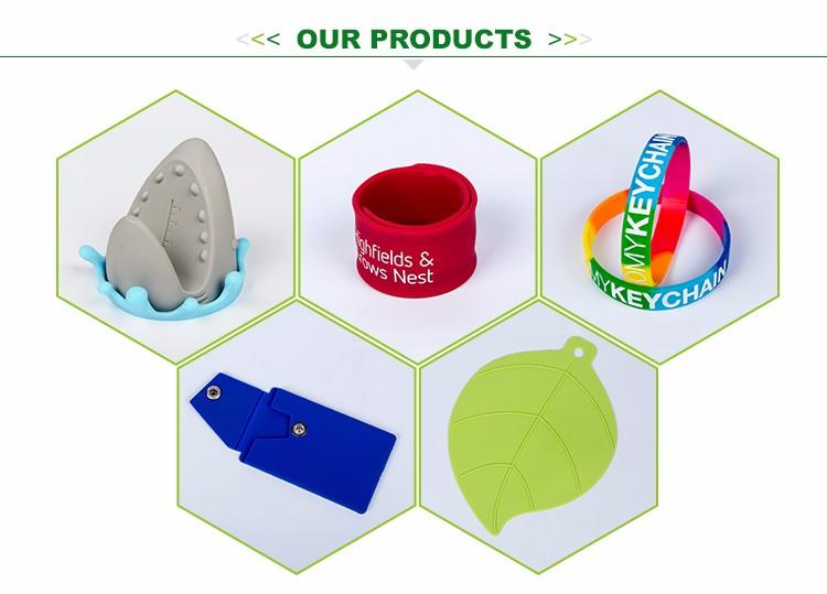 Cadeau promotionnel en gros personnalisé petit imprimé logo mini silicone marqueur de verre de vin