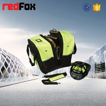 Useful high visibility beach bag with blue colour for school bag