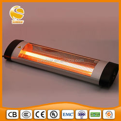 wall mounted electric infrared waterproof garage heater 2000W to 3000W
