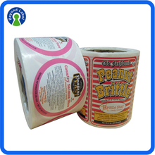 Custom High Quality Self Adhesive Fabric Sticker Label,Custom Roll Packing Waterproof Printed Fabric Labels