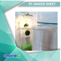 Polycarboante plastic green house material sheet
