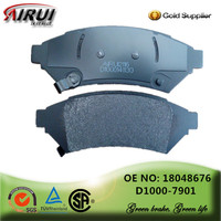 disc brake pads, OE quality, manufacturer hot sales auto parts(OE: 18048676/D1000-7901)
