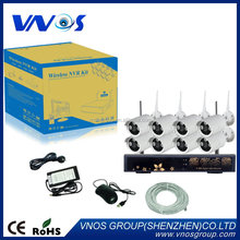 New design factory direct wireless nvr camera kits alarm system