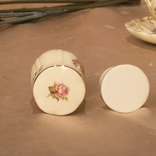 Porcelain luxury toothpick holder for home