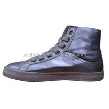 kids PU fashion high heel shoes