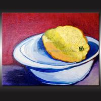 2016 100% Hand Wall Art Decor Abstract Still Life Fruit Oil Painting