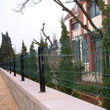 50 x 50mm easy to portable new peach shape post fence product popular in many developed countries