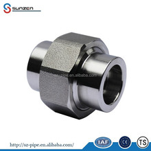 Forged Socket Weld Steel Pipe Unions stainless steel 1 inch union hammer union 1502