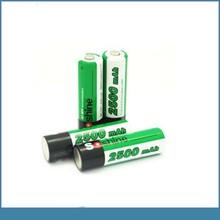 AA/Mignon 1.2v 2500mah nimh aa rechargeable batteries