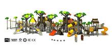 forest theme big kids outdoor playsets amusement park children plastic playground
