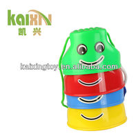 Kids Plastic Smile Face Stilts