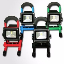 Good price!!!Super Bright Auto Portable ul 10w rechargeable led flood light from china ,Rechargeable COB LED Work Light