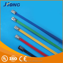 Multicolour Stainless Steel Cable Ties ,Wing Lock