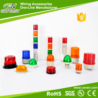 Manufacture traffic warning light 12V 24V tower lights yellow green rotary beacon with CE certificate