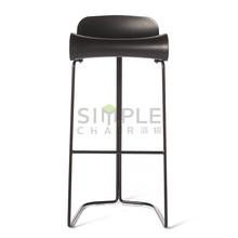 Factory supply plastic bar stool for wholesales