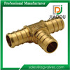 1 1/2 Brass Crimp Fittings For Pex Pipes Tubing
