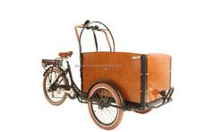 CE family three wheel cargo bike electric tricycle cargo