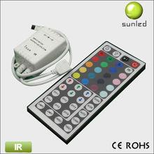 2012 HOT 12V rgb wifi led ir controller