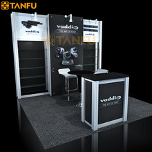 tanfu 10 x 10 o 3m x 3m esposizione di metallo stand con ripiani per fiera