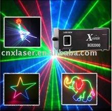 Night club animation 2w RGB LASER