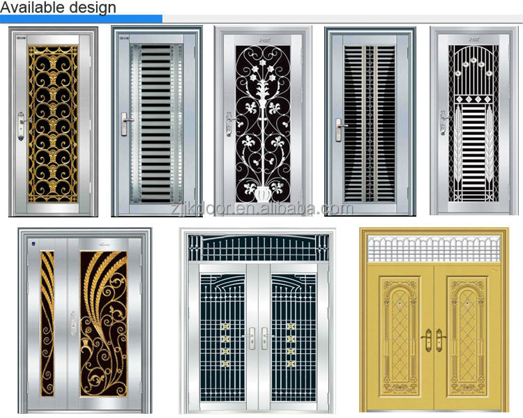 Steel Door Grills Design Pictures - Zion Star