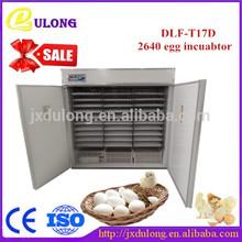 Industrial completamente automático comercial de pollo incubadora para incubar máquina