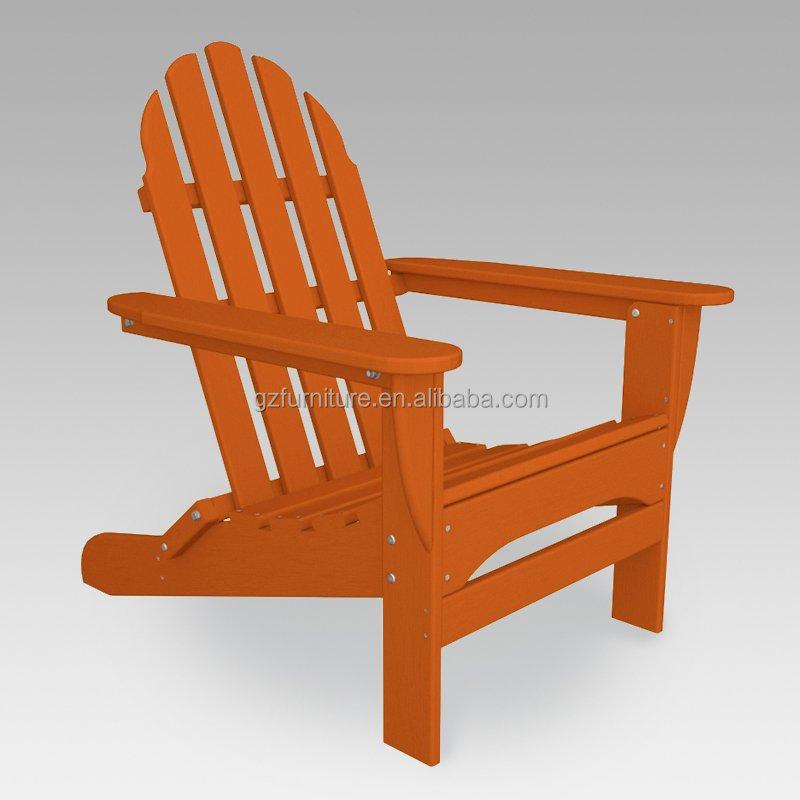 ... Recycle Plastic Adirondack Chair Orange ...