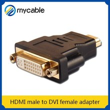 HDMI male to DVI female adapter mini usb to 3.5mm adapter