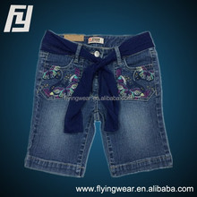 Customized Active Kids Girls Outdoor Jeans Pants