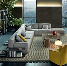 100% Natural Factory Offer Fabric Modern Sofa, Italy style living room sofa, custom-made sofa B096