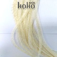 new style feather synthetic hair extensions kit for Hallowmas hair for Christmas gift